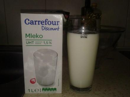 Беремо склянку молока (0,5 л)