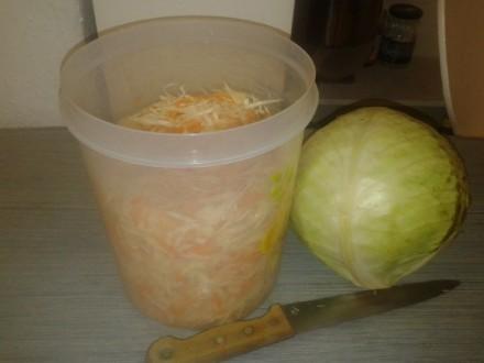 рецепт квашеної капусти