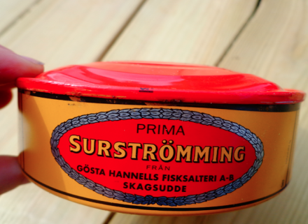 сюрстремминг, surströmming, шведская тухлая селедка