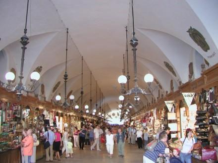 ринок площа у кракові, сукенніце