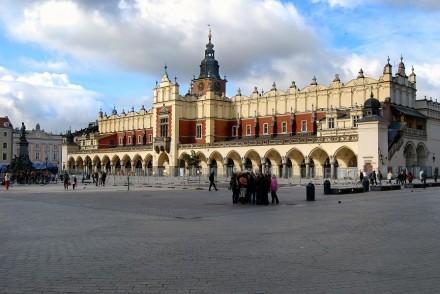 Суконні ряди в Кракові. Сукенніце - Площа ринок