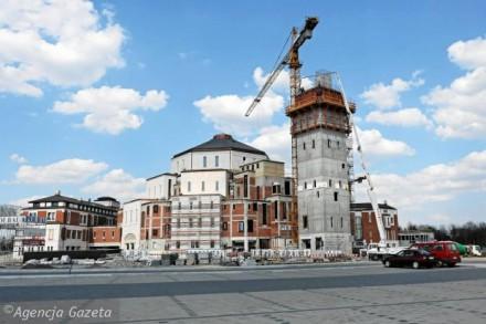 Центр Іоана Павла ІІ в Лагєвніках, Санктуаріум в Кракові, визначні місця польщі, старий краків, краків фото