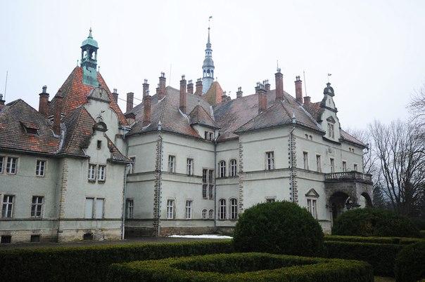 замок Шенборна. санаторій Карпати