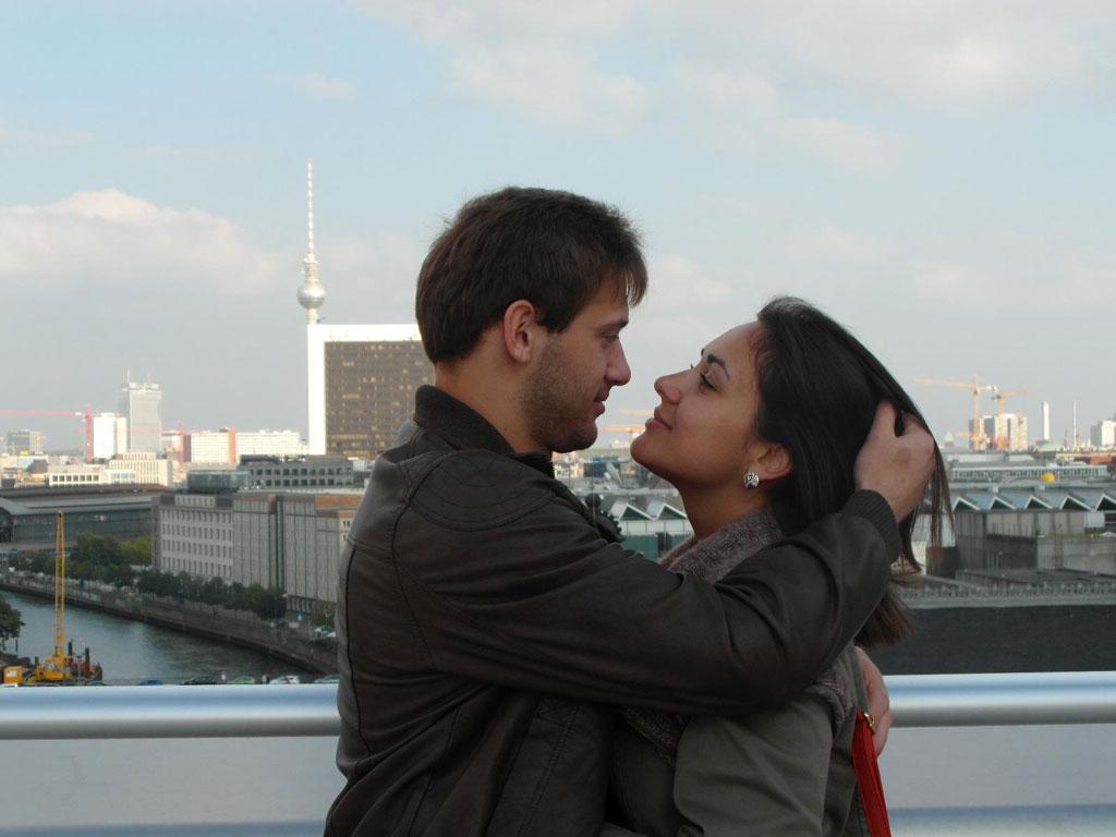 Поцілунки на даху Бундестагу, Берлін