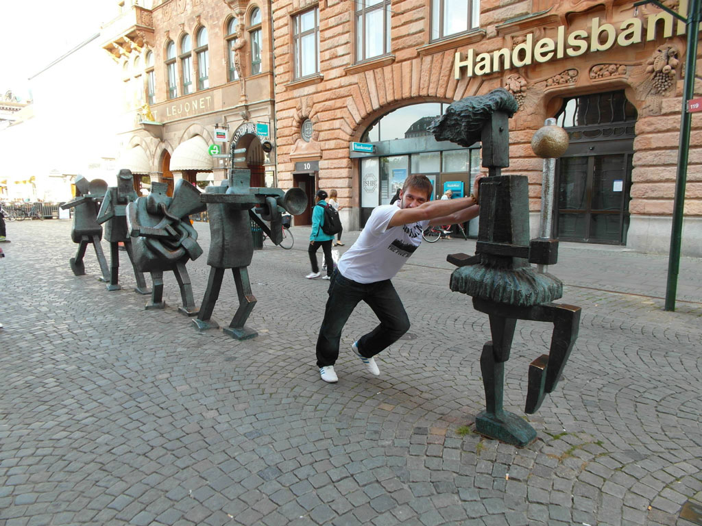 Вуличні скульптури, Мальме