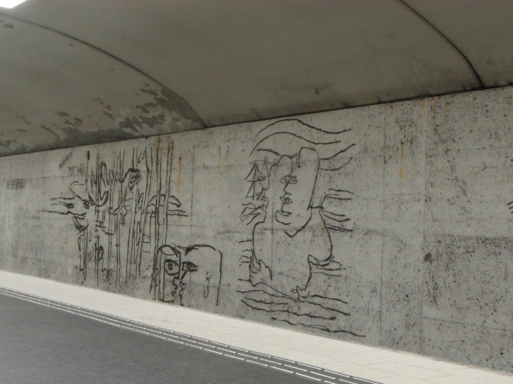 """Станція метро """"Для поцілунків"""", Стокгольм"""
