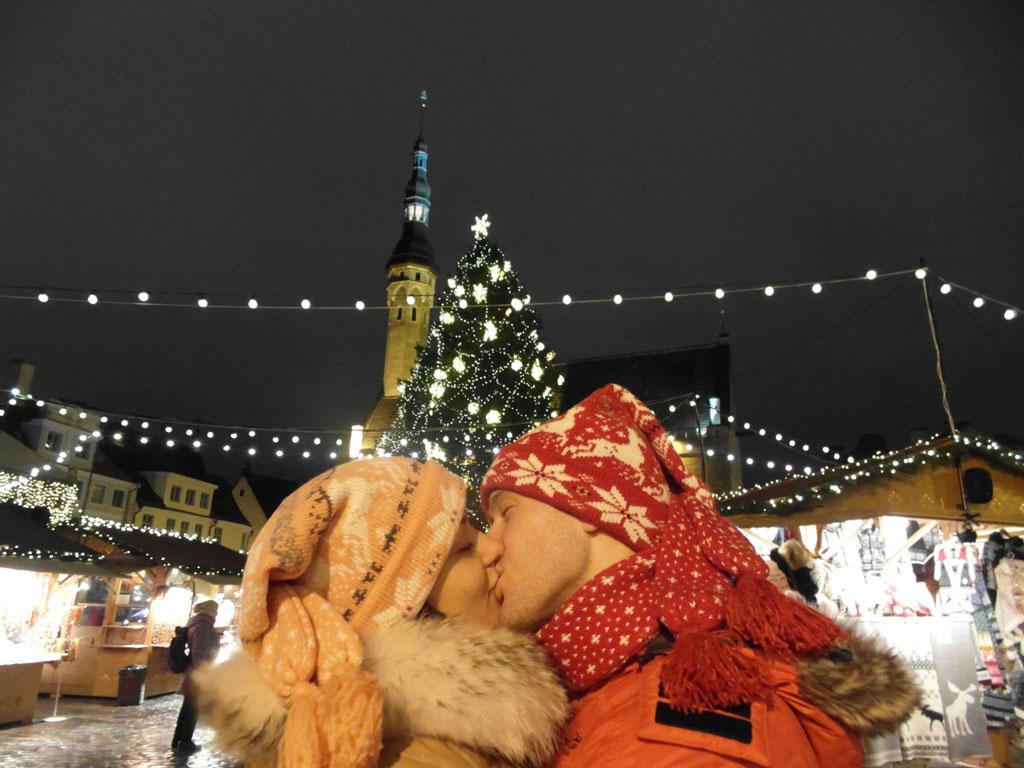 Поцілунки на Новий рік, Таллін
