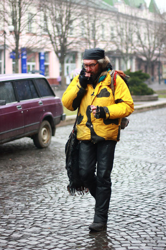 Диваки на вулицях Мукачево