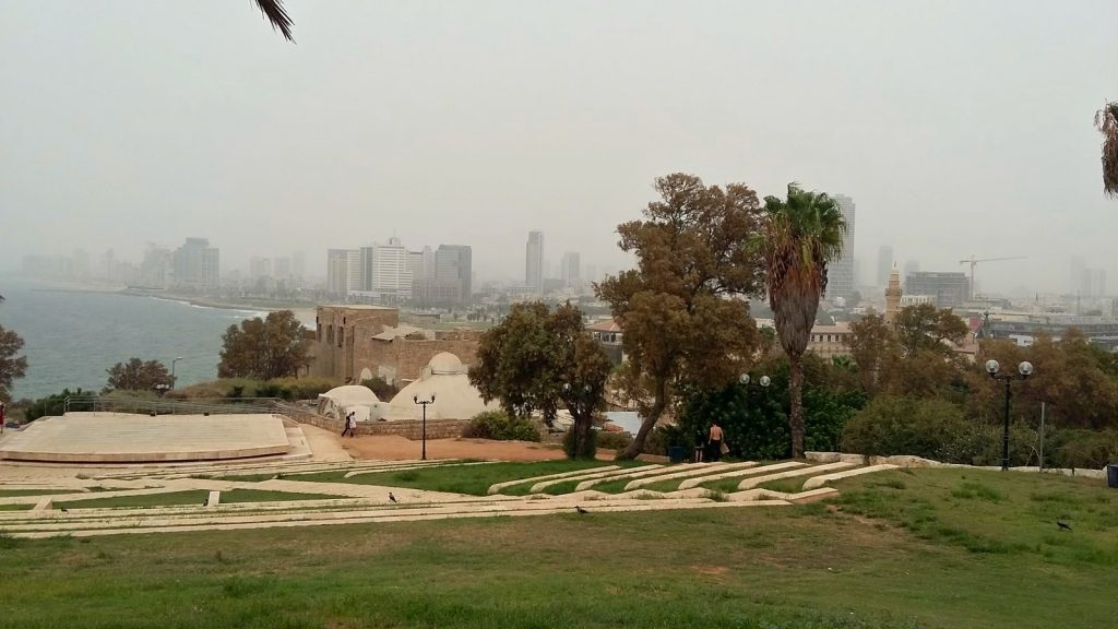 Ось таке було повітря в Тель-Авіві