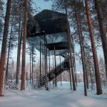 Незвичний готель в Швеції