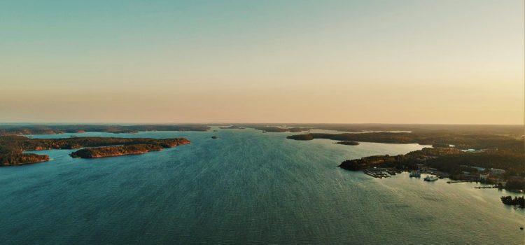 Трішки Балтійського моря з висоти 200м